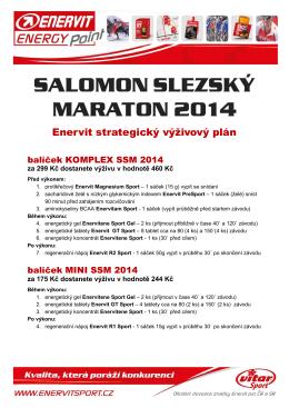 salomon slezský maraton 2014 - salomon slezský maraton 2016