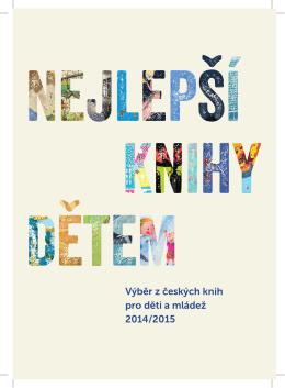 Výběr z českých knih pro děti a mládež 2014/2015