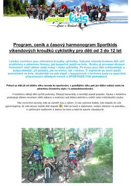 Program - Sport Kids