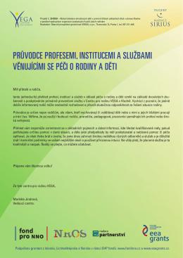 průvodce profesemi, institucemi a službami
