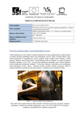 Ing. Antonín Trefil - HMC Engineering system