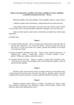 Smlouva mezi Rakouskou republikou, Slovenskou republikou a