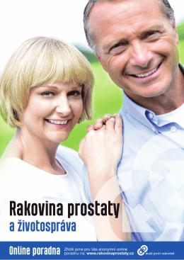 Stáhněte si brožuru - muži proti rakovině