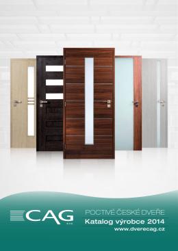 Katalog interiérové dveře CAG