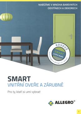 Katalog Kovové dveře a zárubně SMART.
