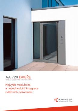 AA 720 DVEŘE