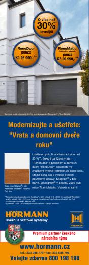 """Modernizujte a ušetřete: """"Vrata a domovní dveře roku"""""""