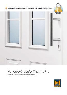 Vchodové dveře ThermoPro