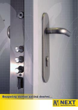 Bezpečný domov začíná dveřmi
