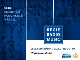 Efektivita rádia v sales promotion