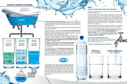 Struktura vodného a stočného (cena vody 2015)