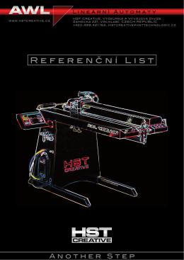 Referenční list - HST Creative
