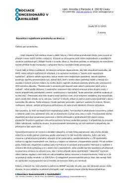 Otevřený dopis AKT primátorce Prahy
