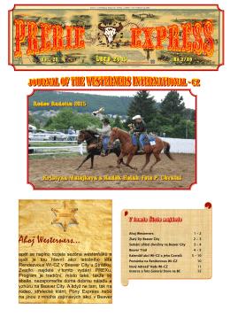 Ahoj Westerners… - Československý Pony Express
