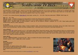 Střední tábor VV 2015