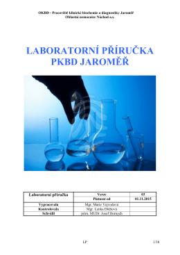 laboratorní příručka pkbd jaroměř