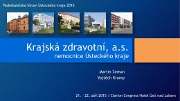 Krajská zdravotní, a.s. nemocnice Ústeckého kraje
