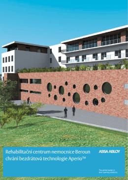 Rehabilitační centrum nemocnice Beroun chrání
