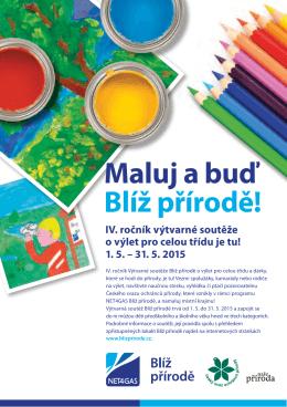 Maluj a buď Blíž přírodě!