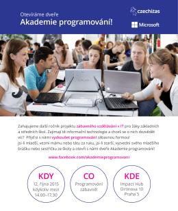 Akademií programování