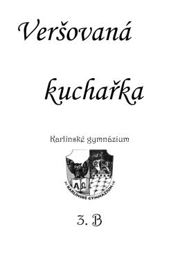 Kuchařka 2012/2013 - Karlínské gymnázium
