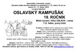 oslavský rampušák 19. ročník