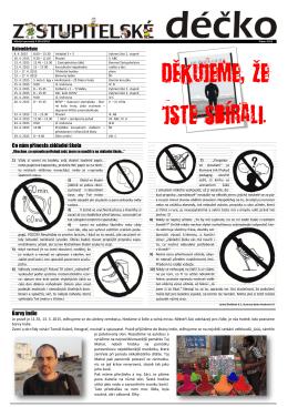 6. číslo DUBEN 2015