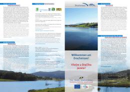 Willkommen am Drachensee! Vítejte u Dračího jezera !