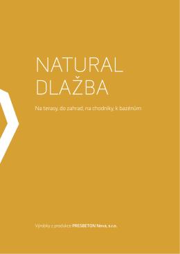 Natural dlažba - CZ