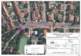 Zklidňující dopravní opatření v okolí ZŠ M. Alše v Praze