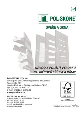 instrukcja montażu okien i drzwi balkonowych - Pol