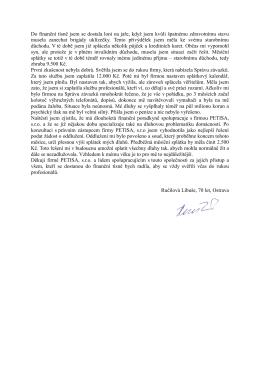 Reference p.Libuše Ručilové