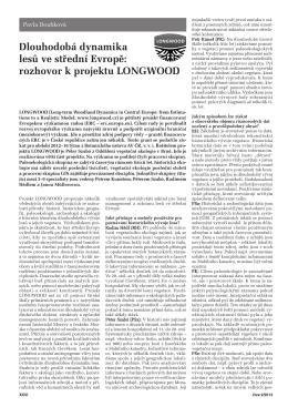 rozhovor k projektu LONGWOOD