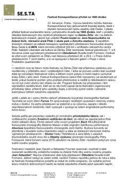 PDF dokument - KoresponDance
