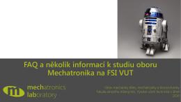 ZDE - Studuj mechatroniku na VUT