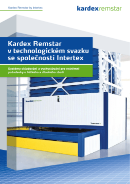 Kardex Remstar Intermat