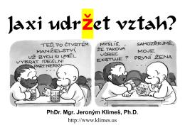 PhDr. Mgr. Jeroným Klimeš, Ph.D.