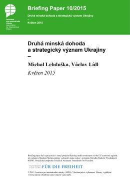 Druhá minská dohoda a strategický význam Ukrajiny
