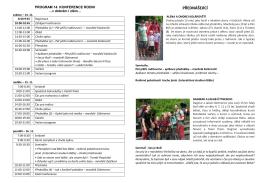 program 2015 - Konference rodin