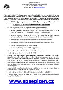 Vyšší odborná škola a Střední odborná škola elektrotechnická Plzeň