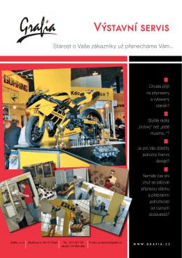Produktový list Výstavní servis