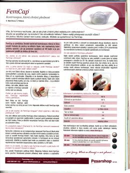 Zdraví článek v časopise Červenec 2014