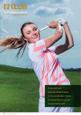 Životní mód - golf