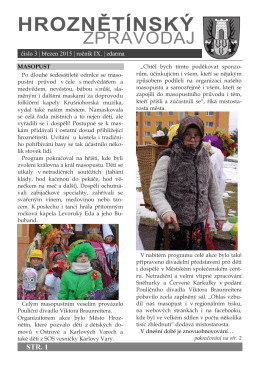 Hroznětínský zpravodaj 3/2015