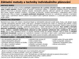 více informací v PDF