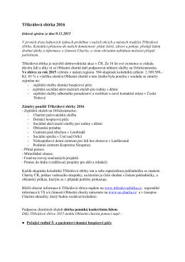 TS 2016- TZ-úvod - Oblastní charita Ústí nad Orlicí