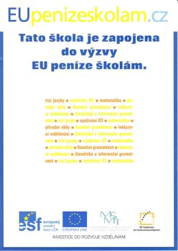 EU peníze školám.