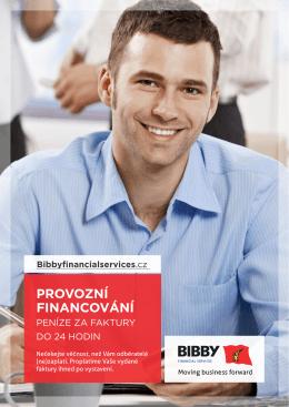 PROVOZNÍ FINANCOVÁNÍ - Bibby Financial Services, a.s.