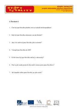 otázky k panelům