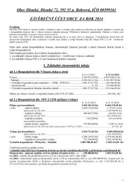 Obec Dlouhé, Dlouhé 72, 592 55 p. Bobrová, IČO 00599361